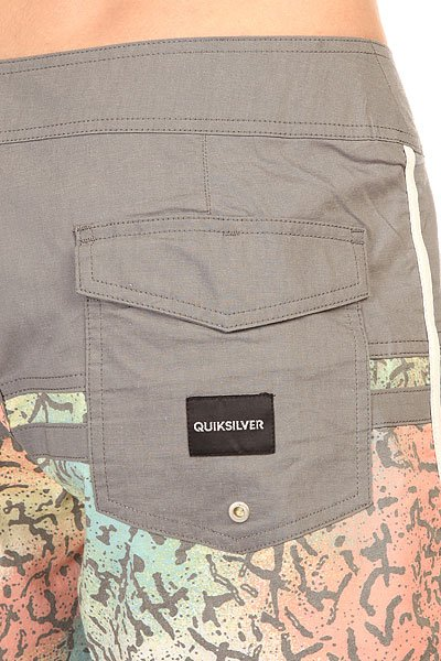 Шорты пляжные Quiksilver Stomp Cracked Black