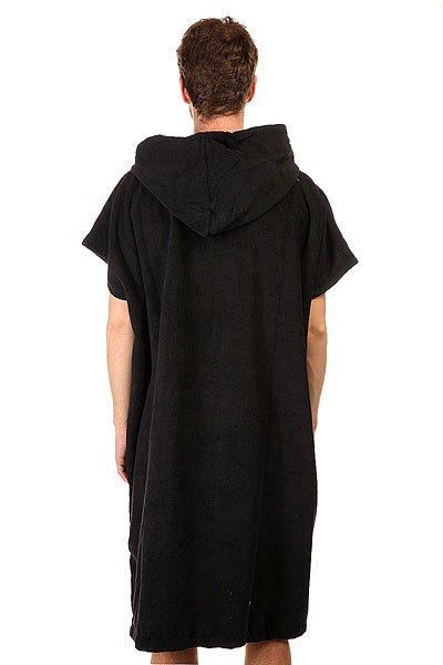 Пончо Billabong Vader Hoodie Towel Black