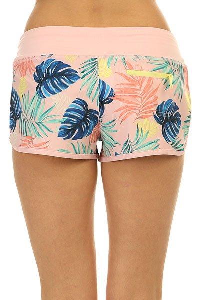 Шорты пляжные женские Roxy Endless Sum2 P Beach Palm Combo Ros