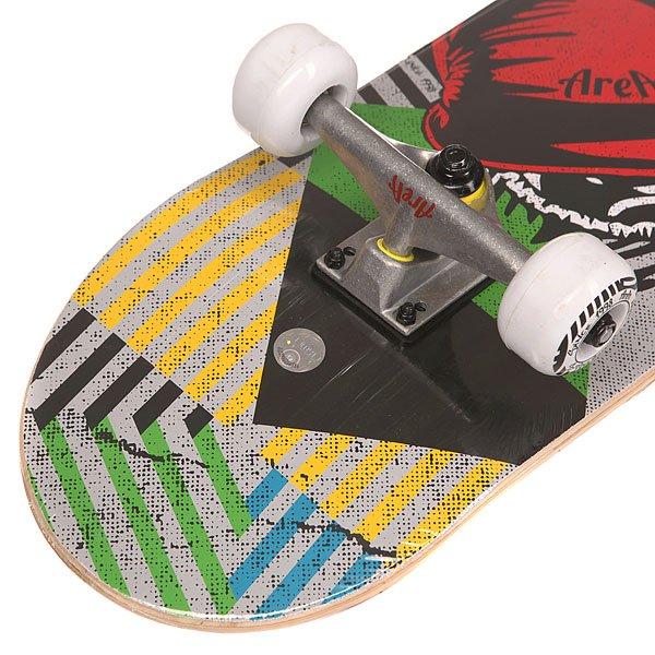 Скейтборд в сборе Fun4U The Boxer Multi 31 x 7.6 (19.3 см)