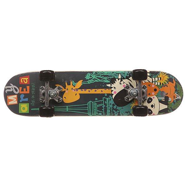 Скейтборд в сборе детский детский Fun4U Safari Multi 24 x 6 (15.2 см)