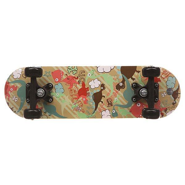 Скейтборд в сборе детский детский Fun4U Dino Garden Multi 20 x 6 (15.2 см)