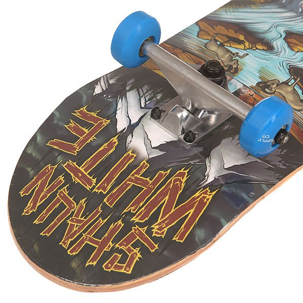 Скейтборд в сборе Shaun White Supply Co. Wave Multi 31.5 x 8 (20.3 см)