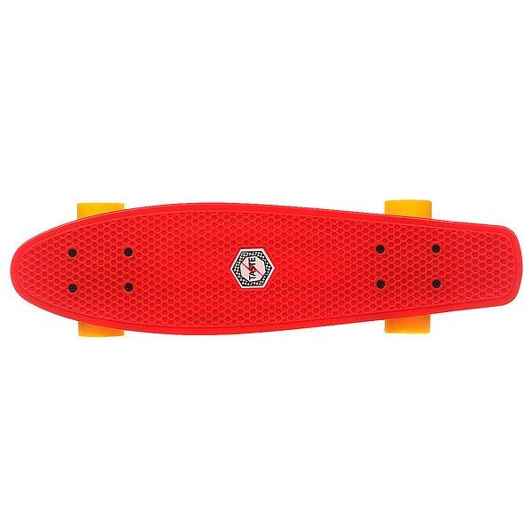 Скейт мини круизер Taste Orboard Red 6 x 22.5 (57 см)