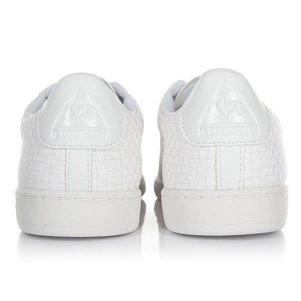 Кеды низкие Le Coq Sportif Arthur Ashe Woven Optical White