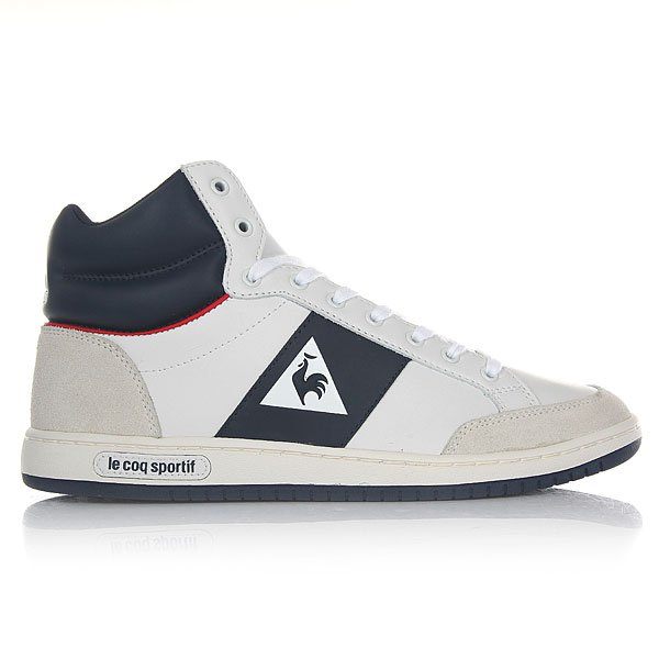 Кеды высокие Le Coq Sportif Prestige Court Mid Sport Optical White/D