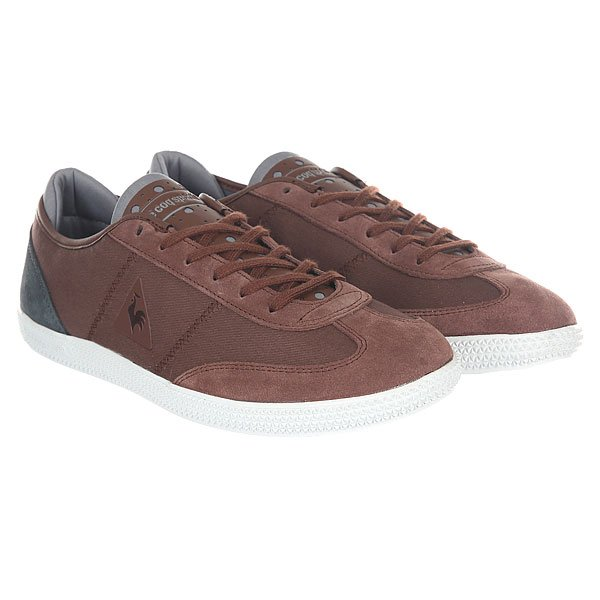 Кеды низкие Le Coq Sportif Castillon Twill Cvs/Tech Nylon Ginger Br