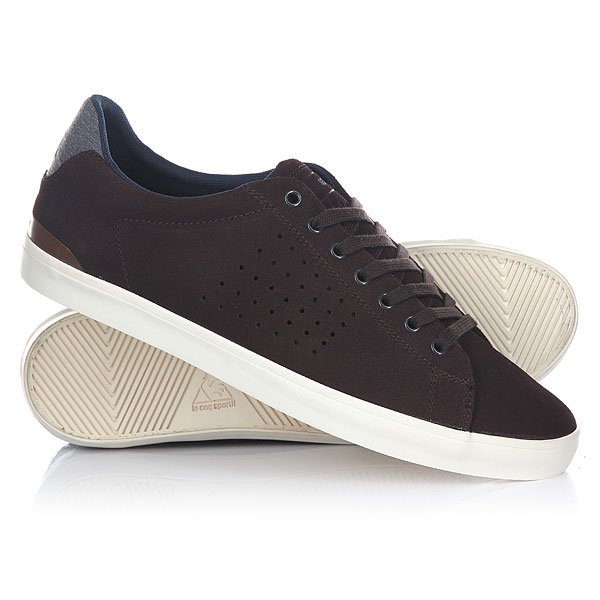 Кеды низкие Le Coq Sportif Clubset Suede/Chambray Reglisse