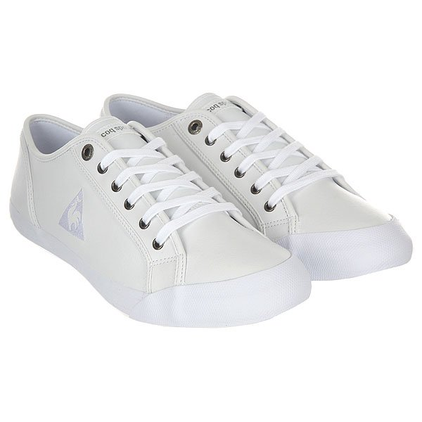Кеды низкие Le Coq Sportif Deauville Plus Lea Optical White