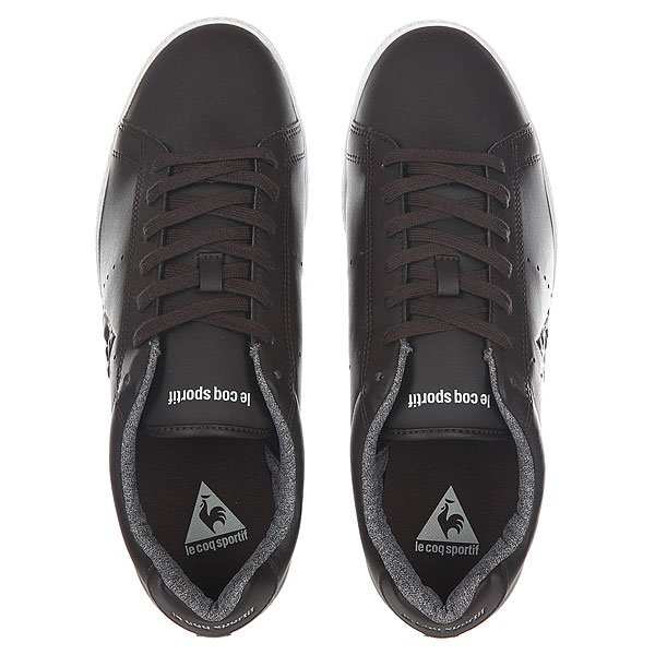 Кеды низкие Le Coq Sportif Courtone Winter Chambray Reglisse