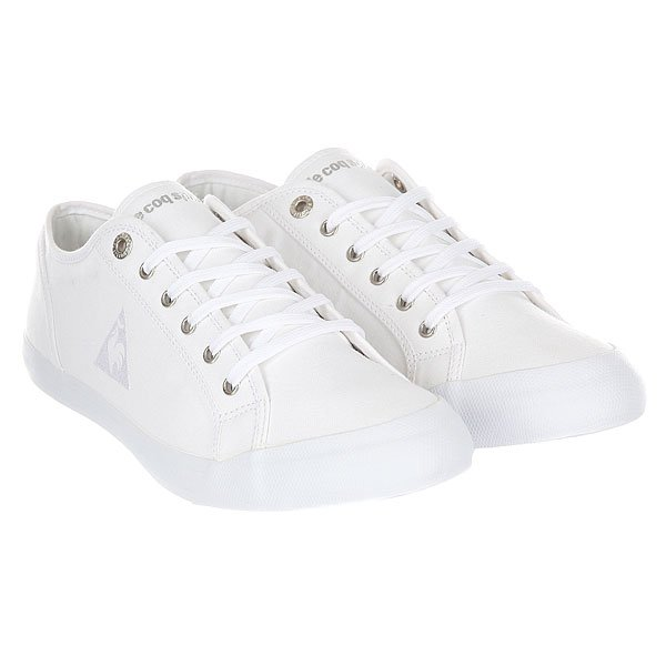 Кеды низкие Le Coq Sportif Deauville Plus White/Silver