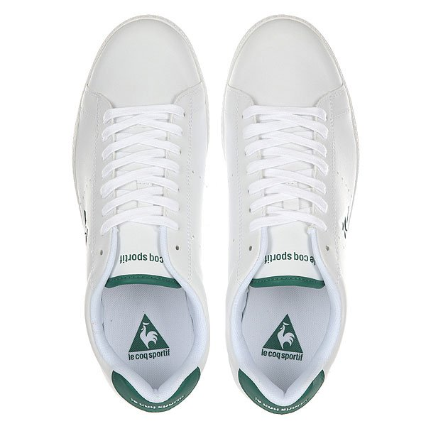Кроссовки Le Coq Sportif Courtone Lea Optical White/Evergreen