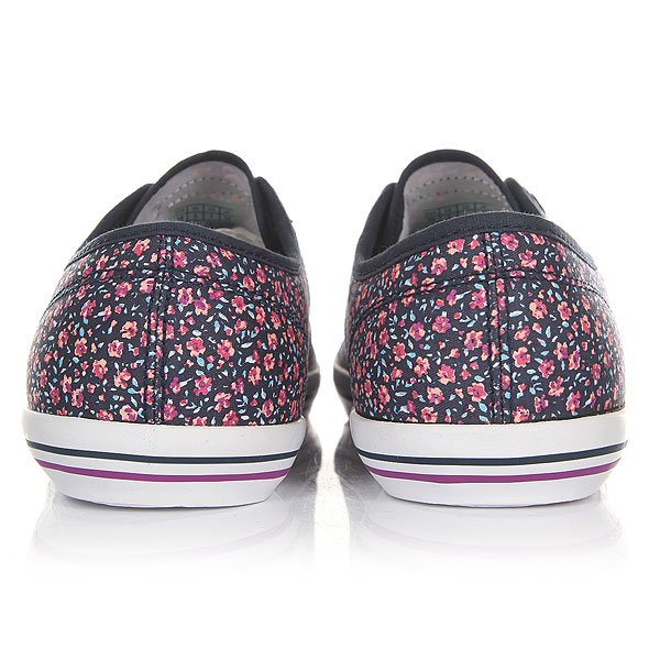 Кеды низкие женские Le Coq Sportif Grandville Micro Flowers Dress Blue/Sp