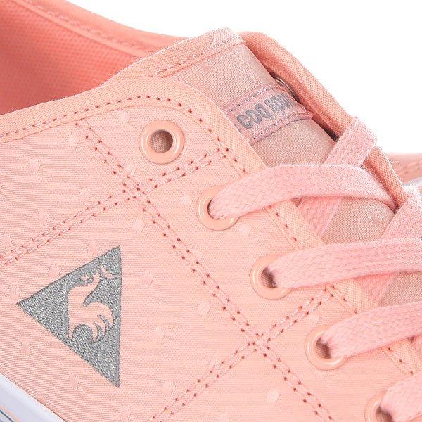 Кеды низкие женские Le Coq Sportif Grandville Dots Tropical Peach