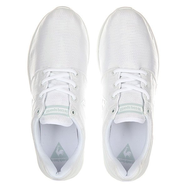Кроссовки женские Le Coq Sportif Dynacomf Iridescent Optical White
