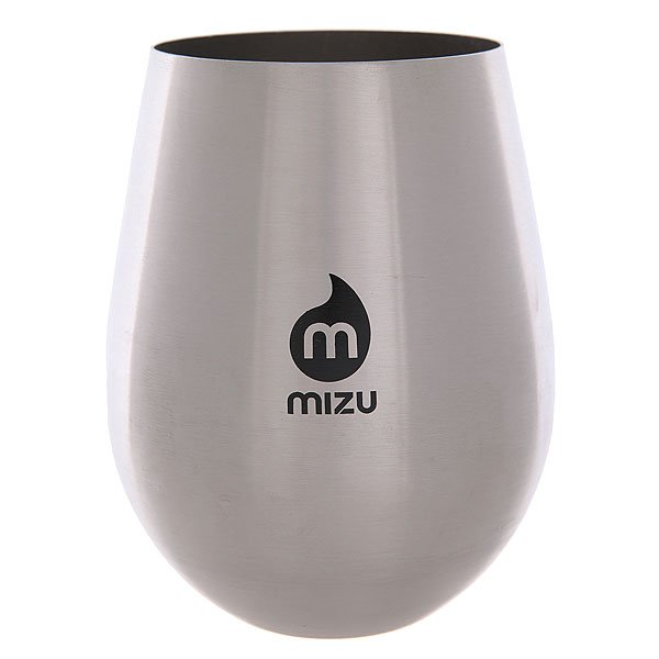 Стакан Mizu Wine Cup Set Stainless W Black Print