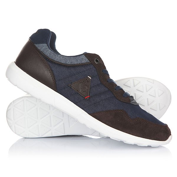 Кроссовки Le Coq Sportif Dynacomf Cft Denim/Suede Dress Blue