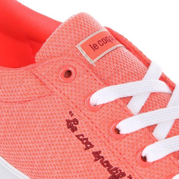 Кеды низкие женские Le Coq Sportif Agate Lo Summer Jersey Fiery Coral/Ruby