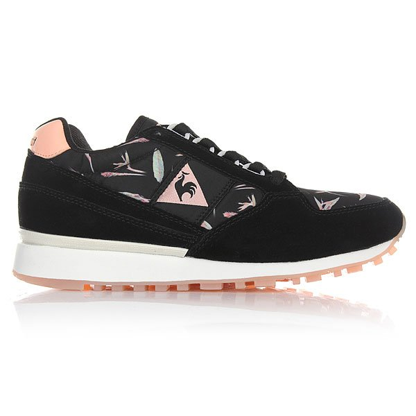 Кроссовки женские Le Coq Sportif Eclat Bird Of Paradise Black/Tropical
