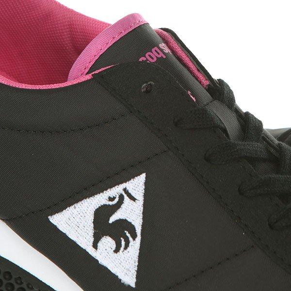 Кроссовки женские Le Coq Sportif Racerone Classic Black/Ibis Rose