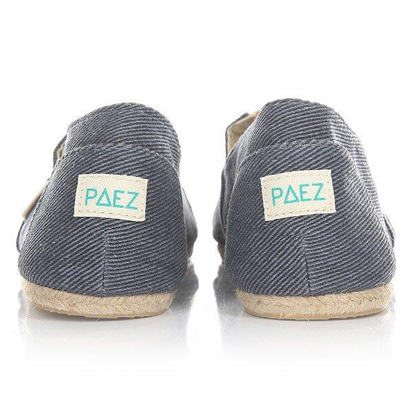 Эспадрильи Paez Classic Raw Essentials Sea-0043