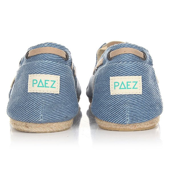 Эспадрильи Paez Classic Raw Essentials Blue-0035