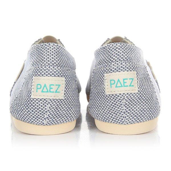 Эспадрильи женские Paez Original Panama Panama Azul-0052