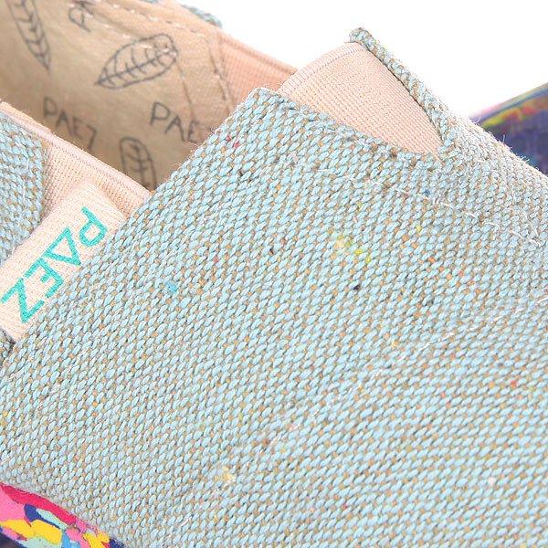Эспадрильи детские Paez Multicolor Mini Combi Jade-0063