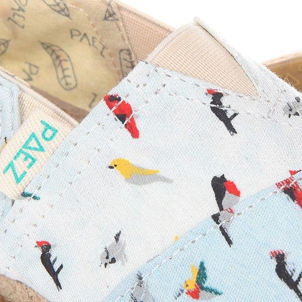 Эспадрильи детские Paez Raw Mini Birds-0012