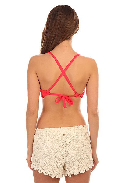 Бюстгальтер женский Billabong Island Cross Back Red Hot