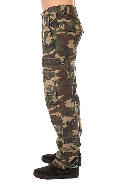 Штаны прямые Dickies New York Camouflage
