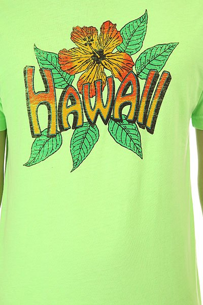 Футболка Lost Vintage Hawaii Lime