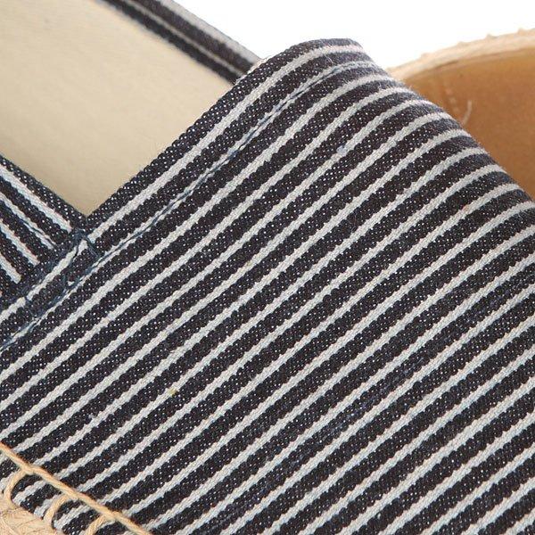 Эспадрильи Soludos Original Stripe Light Navy/White