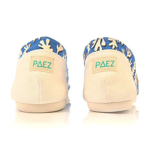 Эспадрильи Paez New Classic Eva Paper Leaves Blue