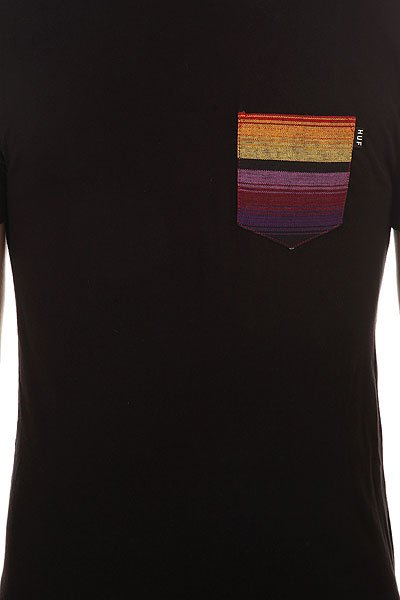Футболка Huf Guatemalan Pocket Tee Black