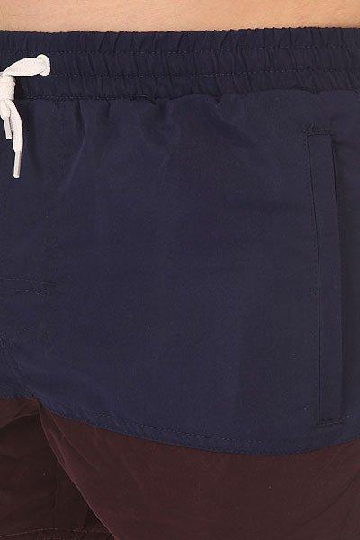 Шорты классические TrueSpin Core Shorts Navy/Brown