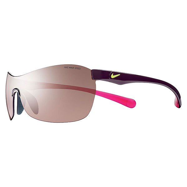 Очки Nike Optics Excellerate E Deep Burgundy/Fuchsia Flash/Max Speed Tint Lens