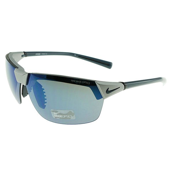 Очки Nike Optics Hyperion Grey / Blue Flash Lens/Matte Platinum/Squadron Blue
