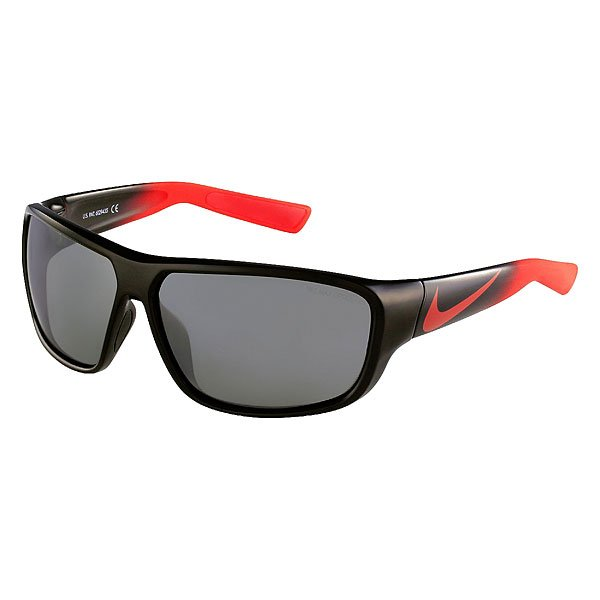 Очки Nike Optics Mercurial 8.0 Black/Challenge Red Fade Grey /Silver Flash Lens