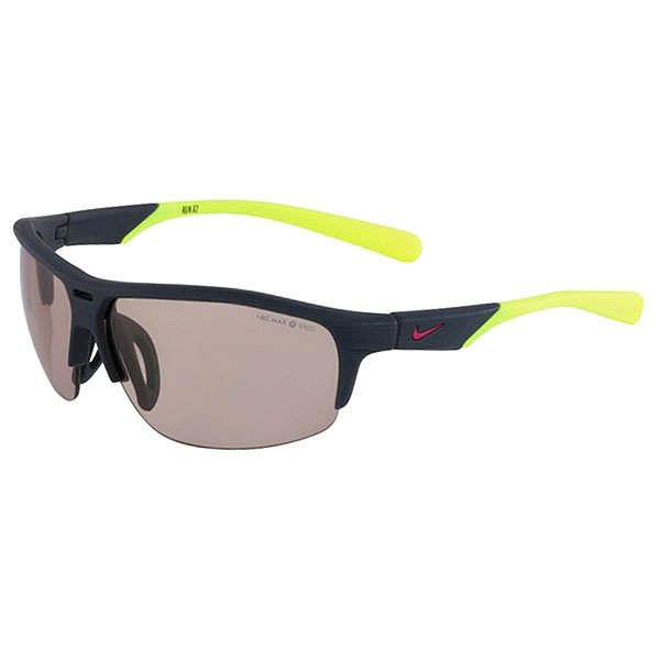 Очки Nike Optics Run X2 Ph Matte Dark Magnet Grey/Volt Max Transitions Speed Tint Lens