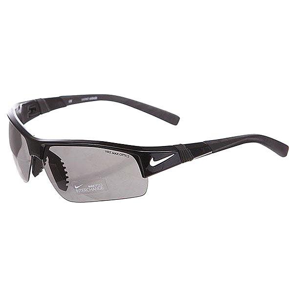 Очки Nike Optics Show X2 Black + Grey/Orange Blaze Lens
