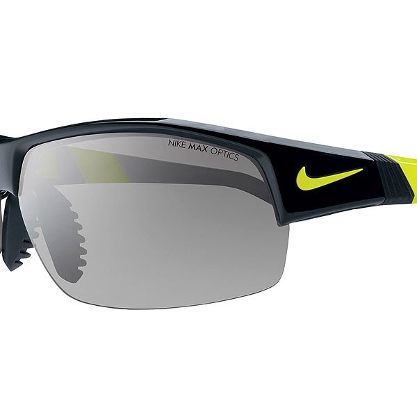 Очки Nike Optics Show X2 Black/Voltage + Grey / Silver Flash/Outdoor Lens