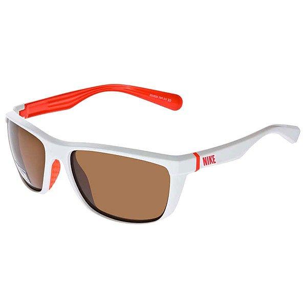 Очки Nike Optics Swag White/Total Crimson/Brown Lens