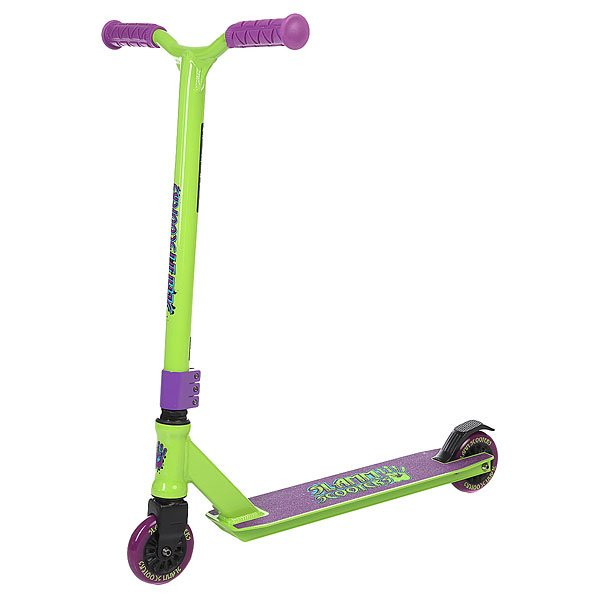 Самокат Slamm Scooters Tantrum Iv Green/Purple