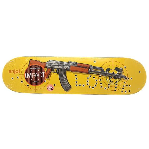 Дека для скейтборда Enjoi S6 Barletta Plus Ak-47 Impact 31.7 x 8 (20.3 см)