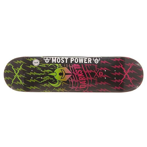 Дека для скейтборда Darkstar S6 Axis Pink Fade 31.6 x 8 (20.3 см)