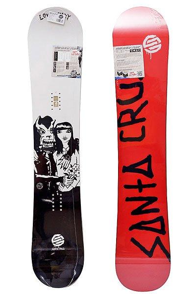 Сноуборд Santa Cruz Love Is Scarry 156 White