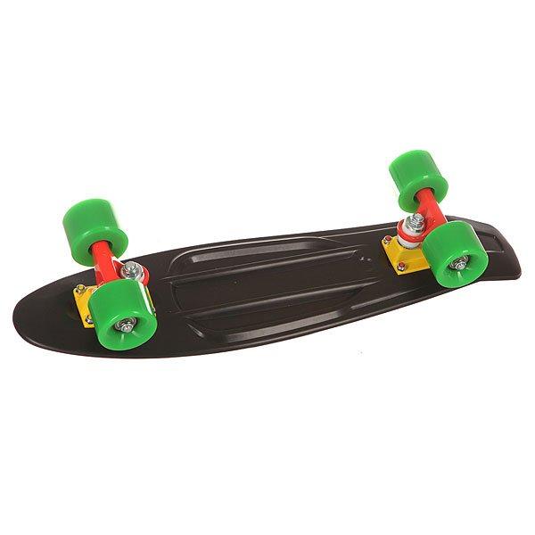 Скейт мини круизер St Black Mamba Black 6 x 22.5 (57 см)
