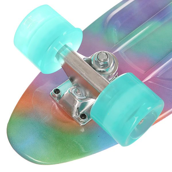 Скейт мини круизер St Tyemao Multicolour 6 x 22.5 (57 см)