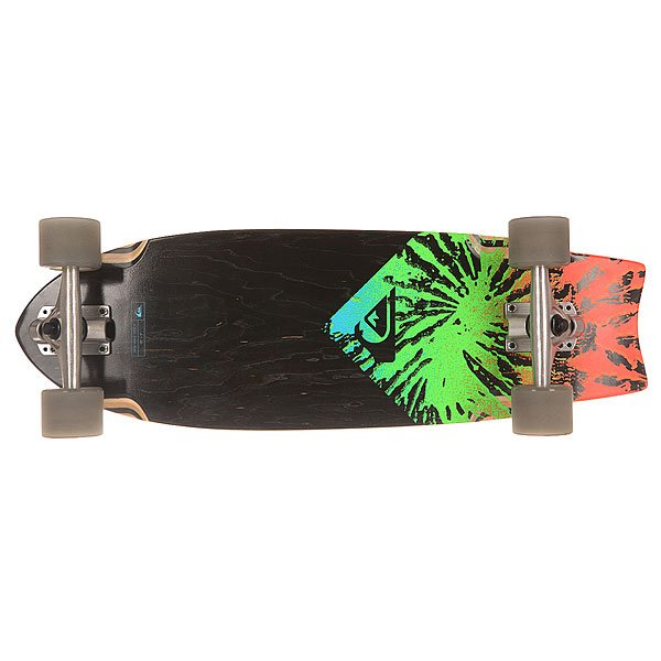 Скейт мини круизер Quiksilver New Wave Psych Multicolour 9 x 28 (71.1 см)